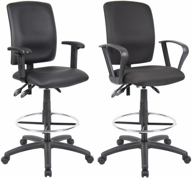 Boss Multi Function Ergonomic Drafting Chair B1635